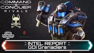 GDI Grenadiers - Intel Report | Command & Conquer Rivals