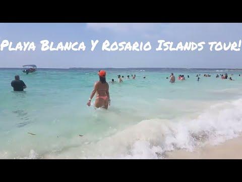 cartagena colombia playa blanca and rosario islands