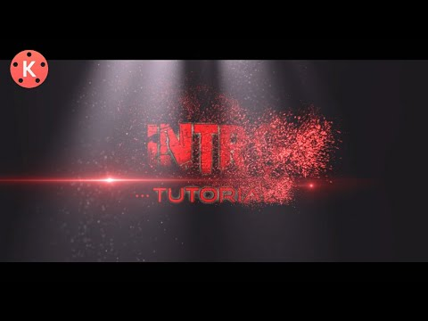 Particles Intro Made With Kinemaster - In Kinemaster - Pixellab - Tutorial