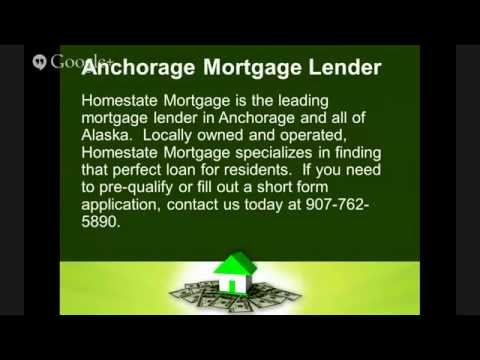 Mortgage Lender Anchorage Alaska