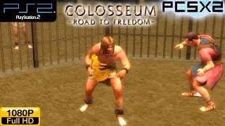 Colosseum: Road to Freedom - PS2 Gameplay 1080p (PCSX2)