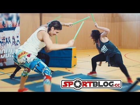Pound Fitness - Deutsche Master-Trainerin erklärt das hippe Trommel-Workout