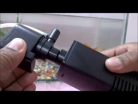 SOBO aquarium filter demo video