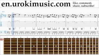 Скачать Guitar Lessons John Legend One Woman Man Sheet Music Tutorial Part 2 Um A352