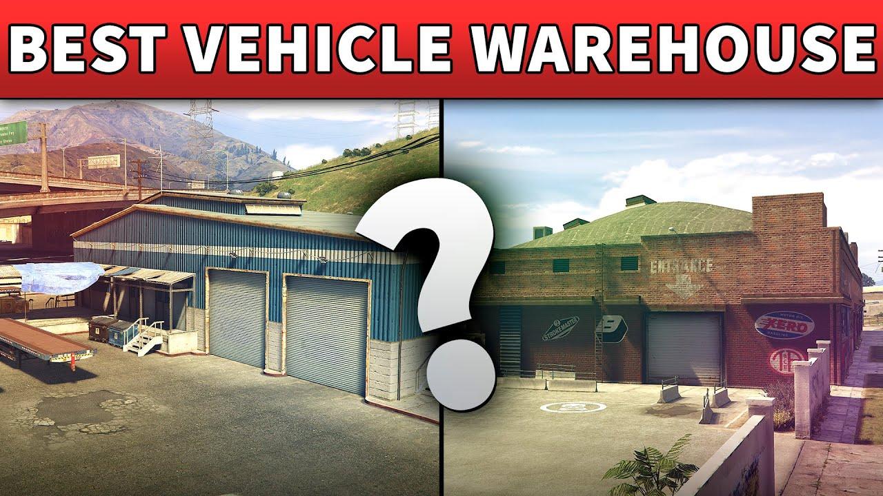 Gta 5 Best Vehicle Warehouse Location To Buy Gta Online Best Import Export Garage Relocate Guide Youtube