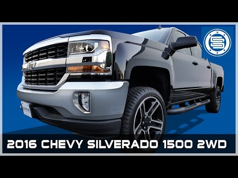 "2016 Chevy Silverado 1500 2WD | 3.5"" Front / 1"" Rear Leveling Kit Install Tutorial"