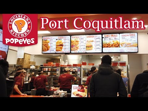Popeyes Fried Chicken In Canada