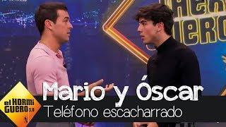 Mario y Óscar Casas salen de su zona de confort con una difícil prueba - El Hormiguero 3.0
