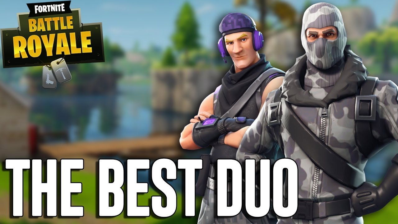 The Best Duo Ever Fortnite Battle Royale Gameplay Ninja Dr