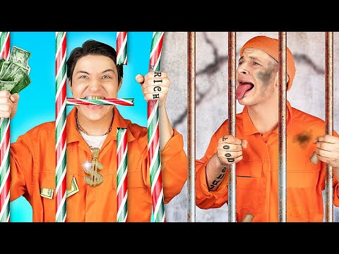Rich Jail vs Broke Jail / 15 Funny Situations |