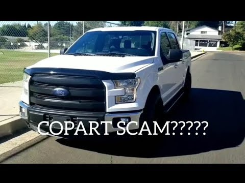 Did COPART sell me a STOLEN truck ?????? THEFT RECOVERY 2016 Ford f-150!!