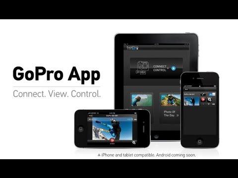 GoPro (HERO2 + Wi-Fi BacPac): GoPro App Tutorial Video