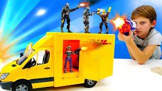 Новые герои Фортнайт - новые игры для детей. Видео с игрушками.