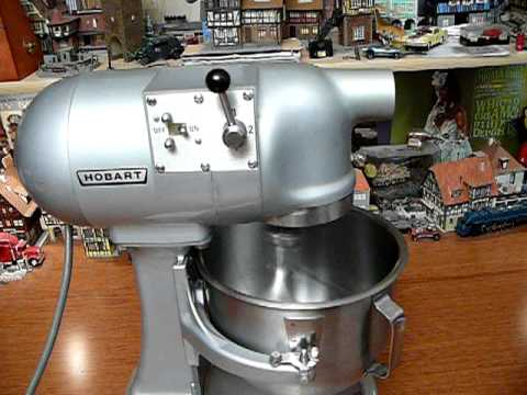 Hobart N50 N 50 Commercial 5 Quart Stand Mixer Youtube