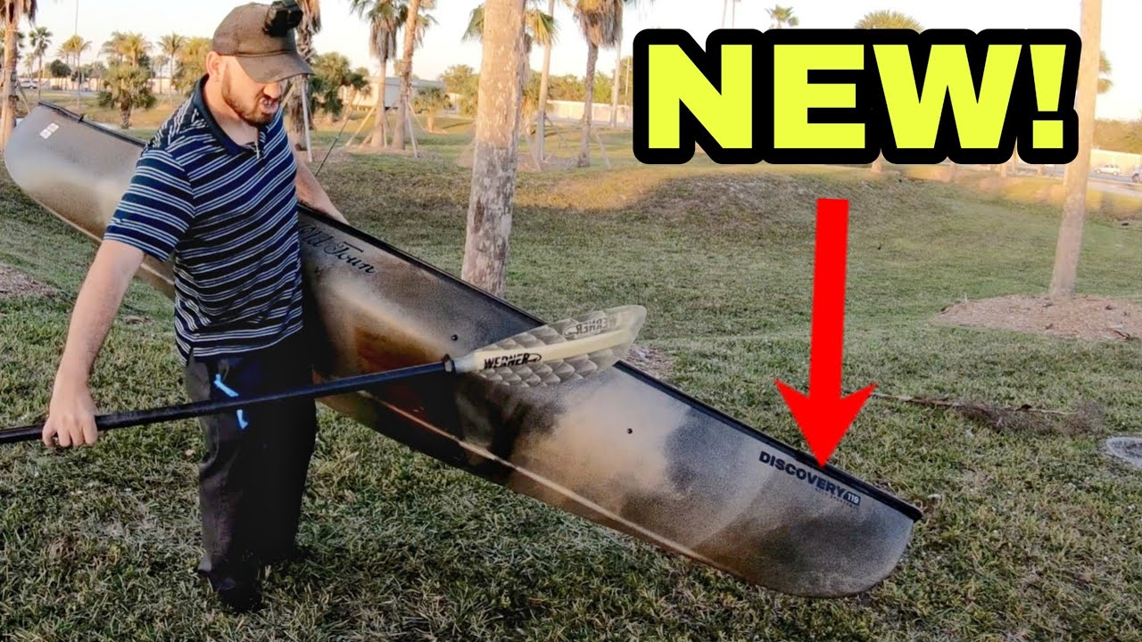 I got a CANOE Old Town Discovery 11 9 Solo Sportsman