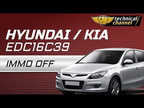 Bosch EDC16C39 (Hyundai / Kia) IMMO OFF with Immo Bypass™ by CarLabImmo