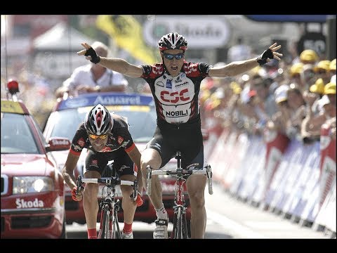 Tour de France 2006 - stage 13 - Jens Voigt takes memorable win, Oscar Pereiro in yellow