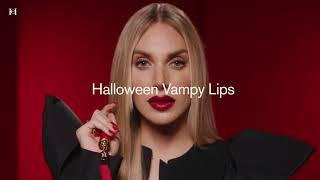 Alex Saint x Carolina Herrera - Halloween Vampy Lips Look   Carolina Herrera New York