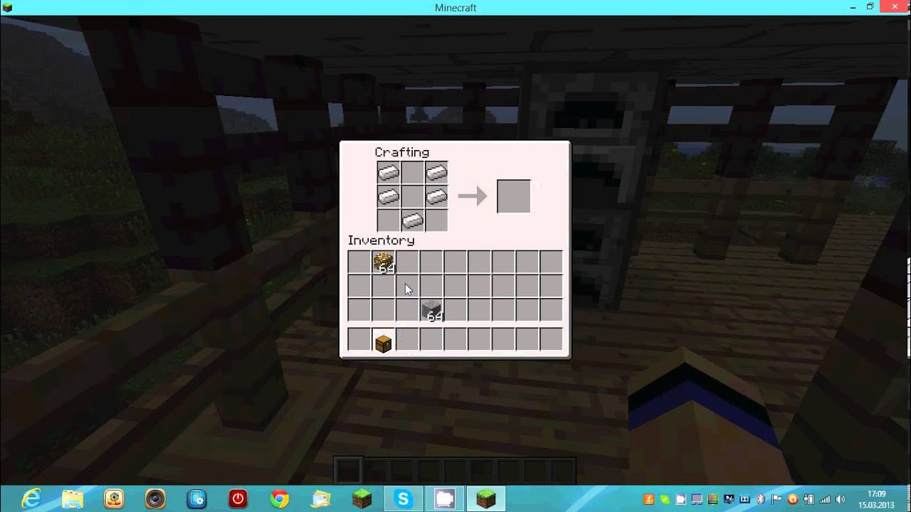 Minecraft How To Make A Hopper 15 YouTube