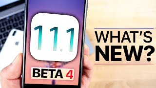 iOS 11.1 Beta 4 Released! What's New Review!