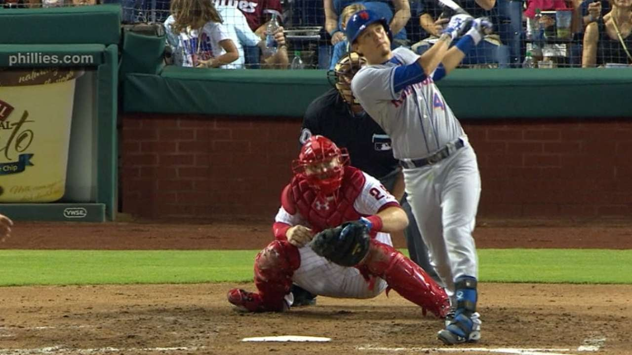 Mets score franchise-record 24 runs in Game 1 laugher vs. Phillies