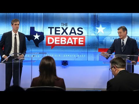Sen. Cruz and Rep. O'Rourke spar in 2nd Texas Senate debate