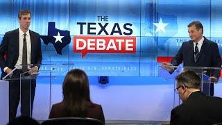 Sen. Cruz and Rep. O'Rourke spar in 2nd Texas Senate debate