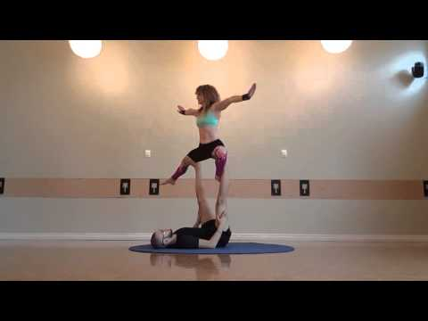 Acroyoga Beginners Sequence