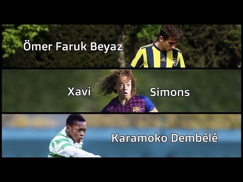 The Best Young Talents Born in 2003 😎⚽ (Karamoko Dembele, Xavi Simons, Ömer Faruk Beyaz)
