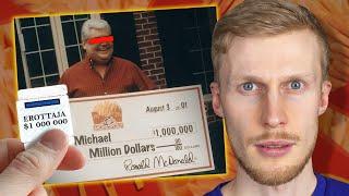 Kuinka McDonaldsilta huijattiin $24 000 000 mainospelistä?