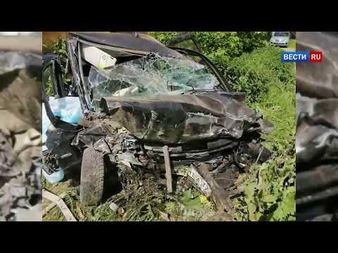 Жуткая авария в  Иванове, четыре человека погибли  на месте