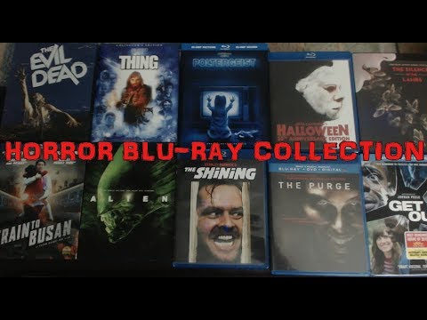 My Horror Blu-Ray Collection!!