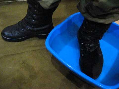 Обувь для охоты. Берцы Бундесвер - YouTube