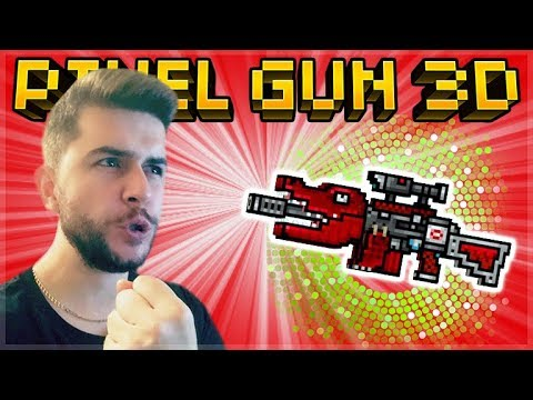I HAVE MY OWN MYTHICAL PRIMARY WEAPON IN THE GAME OP ECKODILE RIFLE | Pixel Gun 3D