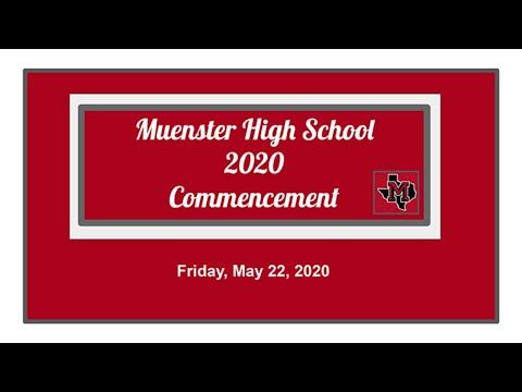 2020 Muenster High School Graduation