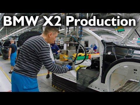 BMW X2 Production, Regensburg