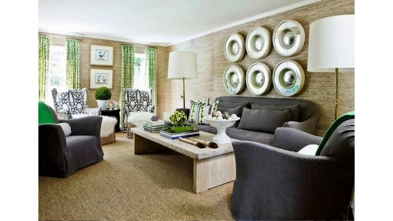 Living Room Decorating Ideas With Black Sofa living room ideas black sofa - youtube