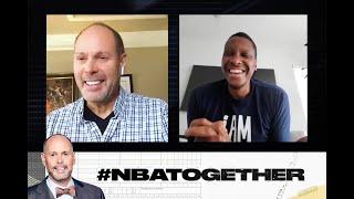 Masai Ujiri Shares His Journey to an NBA Title on #NBATogetherwith Ernie Johnson | NBA on TNT
