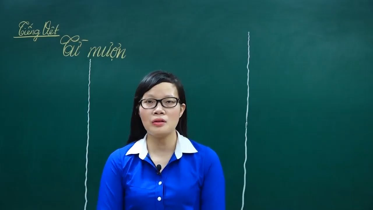 Ngữ Văn Lớp 6 –Bài giảng soạn bài Từ mượn ngữ văn lớp 6| Soạn bài|Tiếng Việt Từ và câu |Cô Lê Hạnh