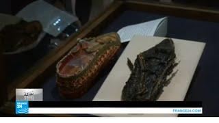 مصر: قطعة استخرجت من قبر الملك توت عنخ آمون!