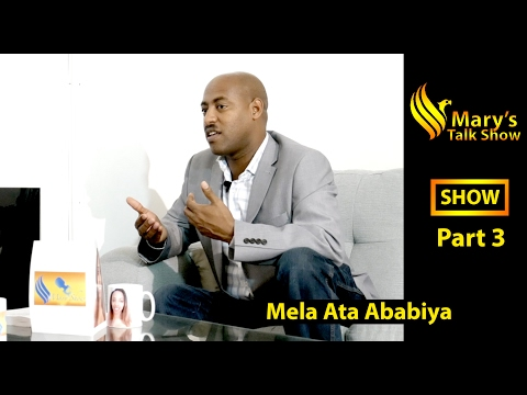 Mary Talk show Interview with Tesfom part 3 New Eritrean Tal