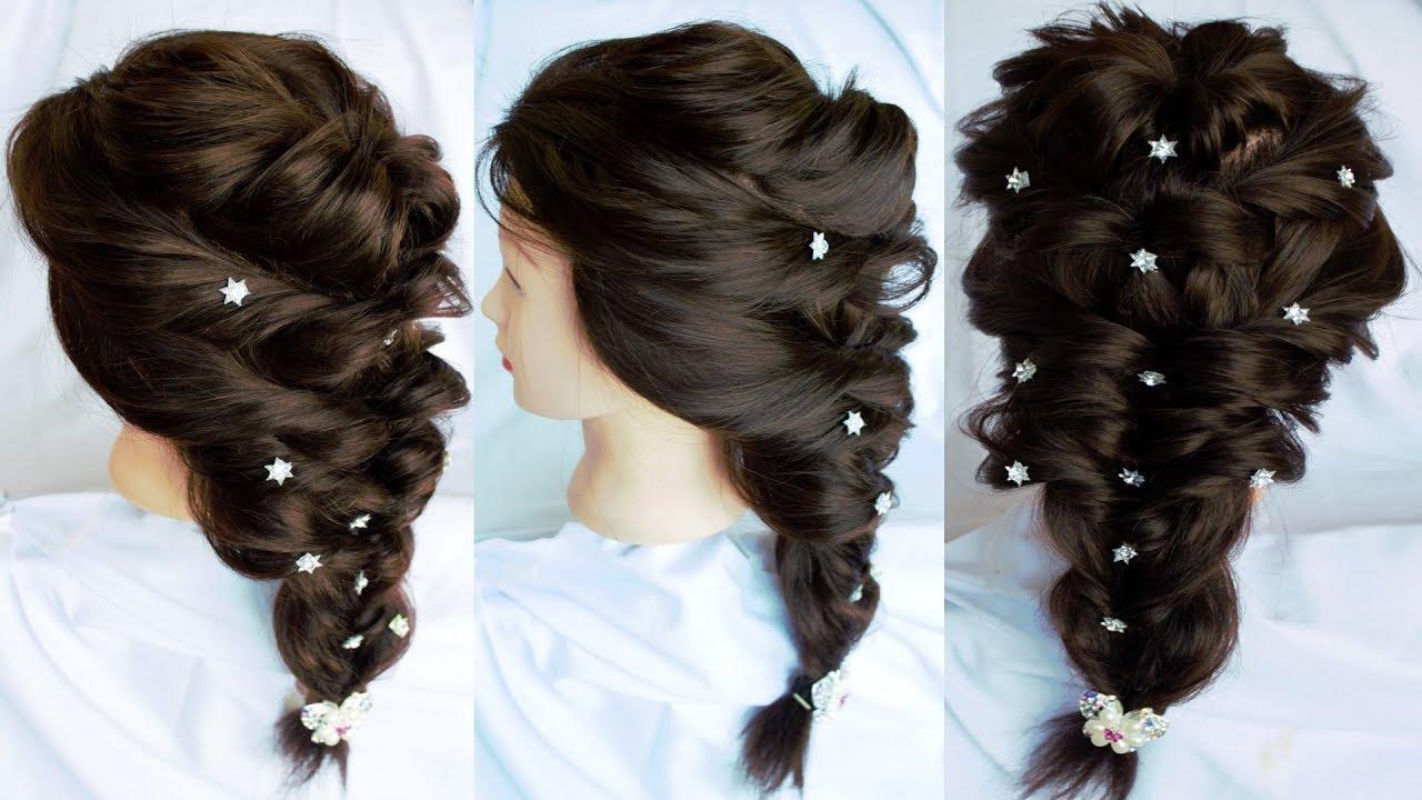 Wedding Hairstyles Braid Hairstyles Natural Hair Styles Medium Hairstyles For Women Youtube