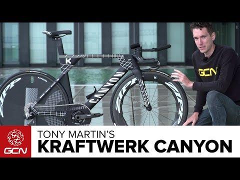 Tony Martin's Kraftwerk Inspired Canyon Speedmax CF SLX | Tour De France 2017