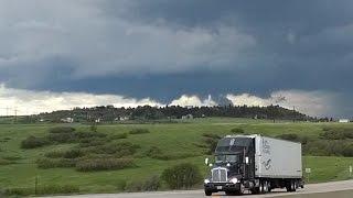 6/5/2015 Live Storm Chase, Southeast of Denver, Colorado