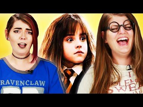 Harry Potter Fans Read Crazy Harry Potter Fanfiction - YouTube