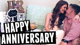 Romantic One Year Anniversary Surprise
