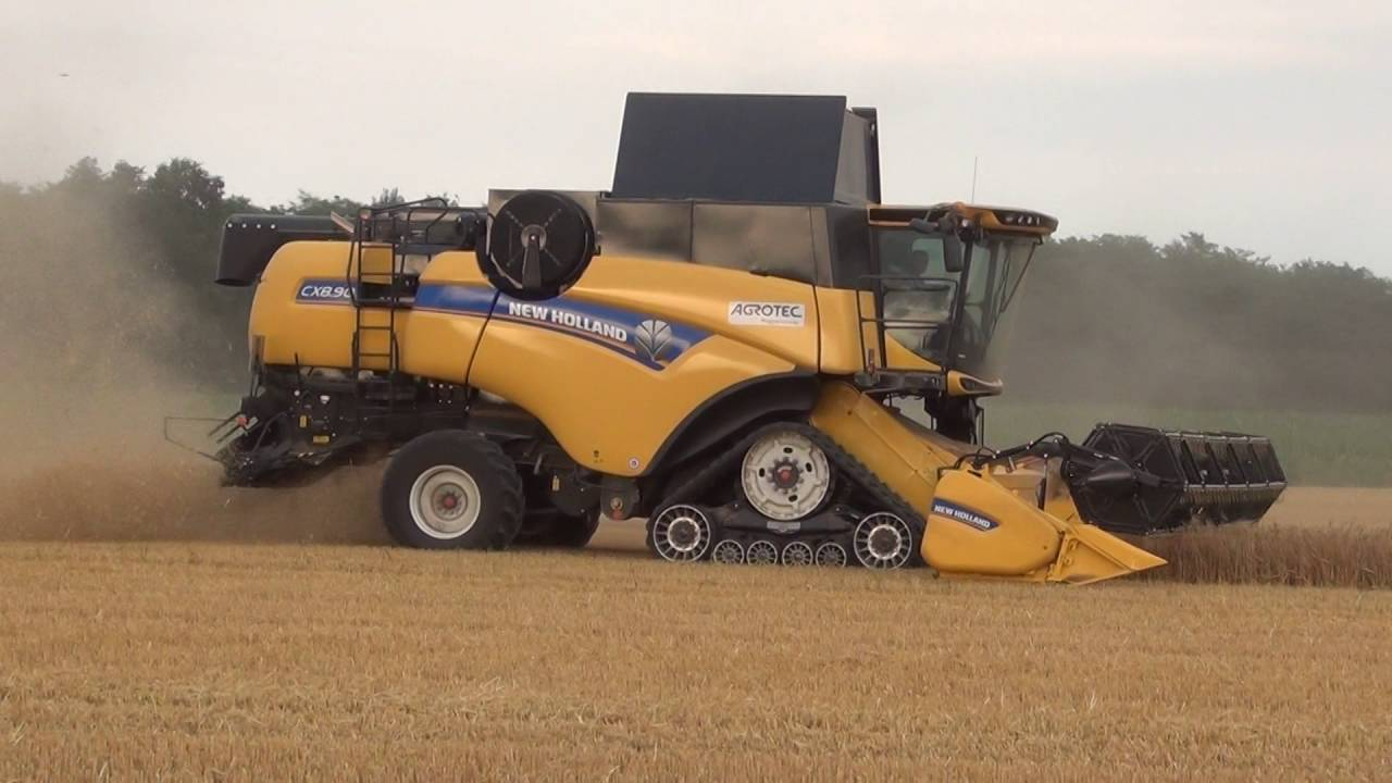 Tracks For Vehicles >> New Holland CX 8.90 - YouTube