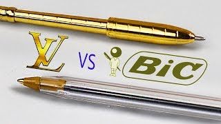 $300 LOUIS VUITTON PEN vs $0 PEN: Which Is Worth The Money?