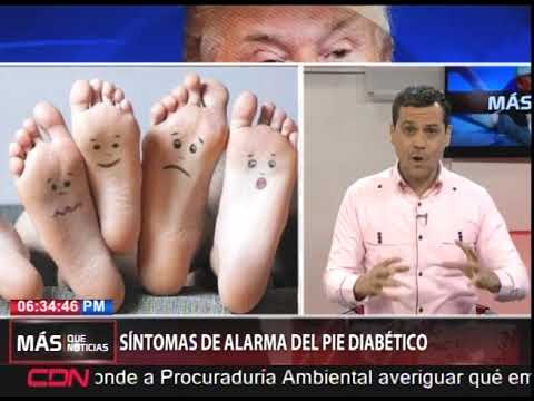 síntomas de diabetes en piernas y pies