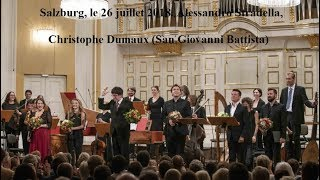 Christophe Dumaux Io per me non cangerei San Giovanni Battista Stradella Vaclav Luks
